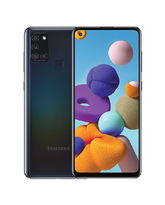 SAMSUNG GALAXY A21S A217F 64GB 4G DS,  black
