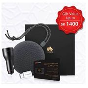 FOC HUAWEI GIFT BOX SUPERCHARGER CAR CHARGER+ TYPE C ADAPTER+ BLUETOOTH SPEAKER - NOT FOR SALE