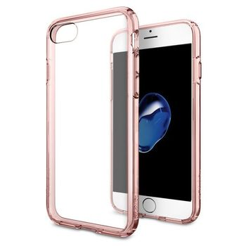 SPIGEN IPHONE 7 / IPHONE 8 BACK CASE ULTRA HYBRID ROSE CRYSTAL
