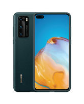 HUAWEI P40 PU CASE,  ink green