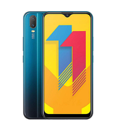 vivo Y11 32GB 4G DUAL SIM,  aqua blue