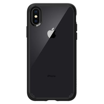 SPIGEN IPHONE X BACK CASE HYBRID,  matte black