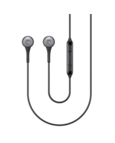 SAMSUNG IN EAR STEREO HEASDSET,  black
