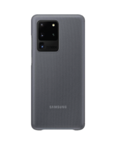 SAMSUNG GALAXY S20 ULTRA CLEAR VIEW COVER,  grey