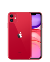 APPLE IPHONE 11,  red, 128gb