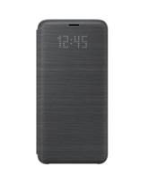 SAMSUNG GALAXY S9 LED VIEW COVER,  black