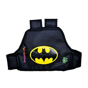 KIDSAFE BELT - Two Wheeler Child Safety Belt - World's 1st, Trusted & Leading (Cool Black Batman), black