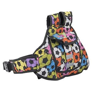 KIDSAFE BELT - Two Wheeler Child Safety Belt - World's 1st, Trusted & Leading (Cool Diamond Football), multi
