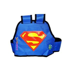 KIDSAFE BELT - Two Wheeler Child Safety Belt - World s 1st, Trusted & Leading (Cool Blue Superman), blue