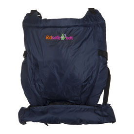 Kidsafebelt Baby Carrier with Inbuilt Zipped Pouch, navy blue