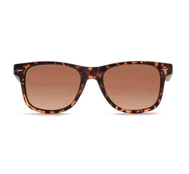 ELITE S18C4383 Brown Polarized RetroSquare Sunglasses