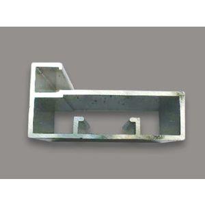 ONYX SHUTTER PROFILE 45 MM (3 MTR), s s  brush finish