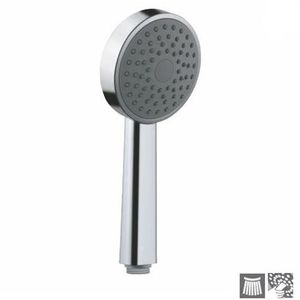 JAQUAR SINGLE FLOW HAND SHOWERS SERIES - HSH-1737 HAND SHOWER DIAMETER 95 MM ROUND SHAPE SINGLE FLOW WITH RUBIT CLEANING SYSTEM