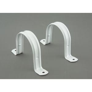 AJAY UPVC FITTINGS - PIPE CLIP (Metal), 1 1/2  40mm