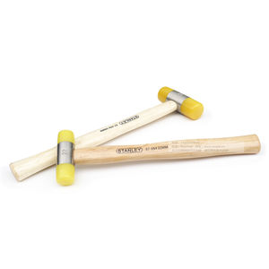 STANLEY STRIKING TOOLS - SOFT FACE HAMMER WITH WOOD HANDLE, 22mm