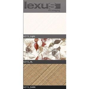 LEXUS 300 X 600 DIGITAL GLOSSY WALL TILES - 6215, light