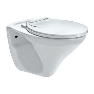 ESSCO SANITARYWARE - ECS-WHT-951N WALL HUNG-WC WITH NORMAL CLOSING SEAT COVER