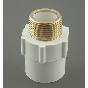 AJAY UPVC FITTINGS - REDUCER MTA BRASS, 3/4  x1/2