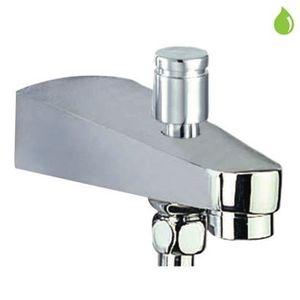 JAQUAR BATHTUB SPOUT - SPJ-463 CONTINENTAL BATH TUB SPOUT WITH BUTTON ATTACHMENT FOR HAND SHOWER