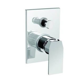KEROVIT QUA SERIES - KB1011036CP 3 INLET CONCEALED BATH AND SHOWER MIXER TRIM