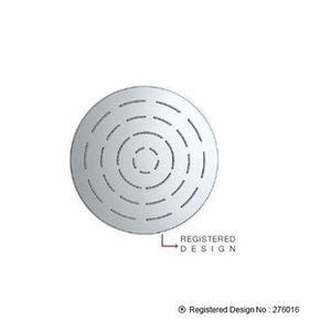 JAQUAR RAIN SHOWERS SERIES - OSH-CHR-1603 MAZE OVERHEADED SHOWER DIAMETER 150 MM ROUND SHAPE SINGLE FLOW WITH RUBIT CLEANING SYSTEM