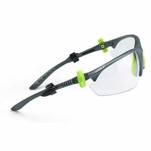 UDYOGI EYE PROTECTION GOOGLE -TWISTER SERIES CLEAR LENS, NOSE BRIDGE