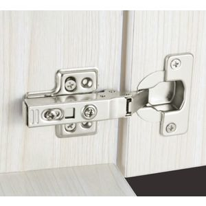 ONYX THICK DOOR SOFT CLOSING HINGES (UPTO 40 MM), 0cr
