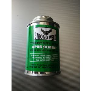 HP STRONG WELD UPVC HEAVY DUTY CLEAR SOLVENT CEMENT, 59 ml tin