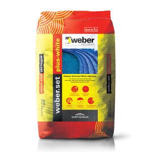 WEBER. SET PLUS-WHITE - TILE ADHESIVES(20KG)