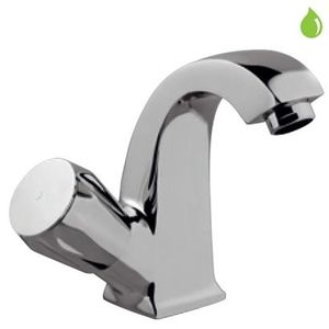 JAQUAR CONTINENTAL SERIES FULL TURN - CON-127BKN SWAN NECK TAP WITH RIGHT HAND OPERATING KNOB
