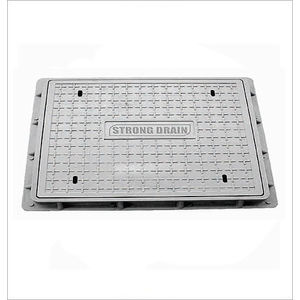 HP RECTANGULAR MANHOLE COVER - CLEAR OPENING 900MM X 450MM, 12.5 tonn