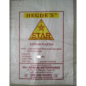 STAR GYPSUM PLASTER - 15 KG BAG