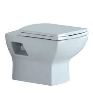 JAQUAR SANITARYWARE LYRIC SERIES - LYS-WHT-38951 WALL HUNG-WC WITH UF SEAT COVER, HINGES, ACCESSORIES SET