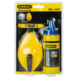 STANLEY MEASURING & LAYOUT TOOLS - STANLEY WHITE/BLUE CHALK AND LINE