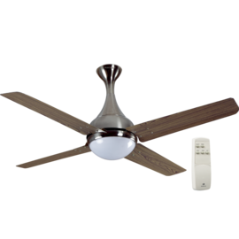 HAVELLS: PREMIUM UNDERLIGHT FANS DEW - 1320 MM SWEEP, viking teak brushed nickel