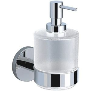 JAQUAR BATH ACCESSORIES CONTINENTAL SERIES - ACN-1135N SOAP DISPENSER WITH GLASS BOTTLE
