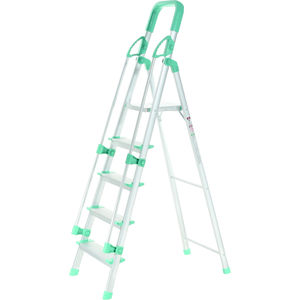 PEARL ALLUMINUM LADDER 5 STEPS WITH RAILING