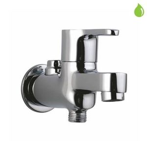JAQUAR FUSION SERIES QUARTER TURN - FUS-29041 TWO WAY BIB COCK WITH WALL FLANGE