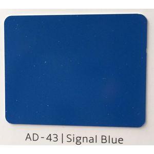 ALUDECOR ACP PANELS (SHEET SIZE 8 ft x 4 ft) - SIGNAL BLU(AD43), grade al32