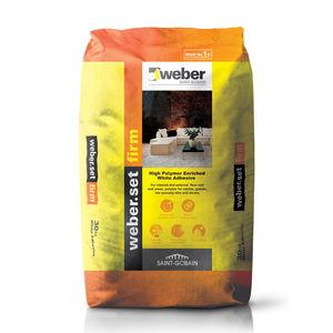 WEBER. SET FIRM - TILE ADHESIVES (WHITE) (30KG)