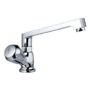 ESSCO MARVEL QUARTER TURN - MQT-523 SINK COCK WITH SWINGING CASTED SPOUT WITH AERATOR