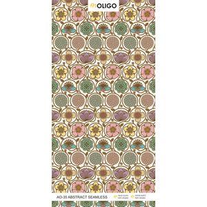 ALSTONE OLIGO WOOD POLYMER COMPOSITE BOARD (8 x 4 FEET) - ABSTRACT SEAMLESS, both side, gloss, 12 mm