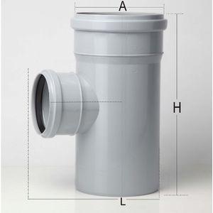 PRINCE SWR ULTRAFIT FITTING - PLAIN TEE, 3  90mm