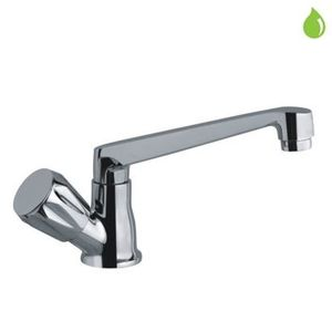 JAQUAR CONTINENTAL SERIES FULL TURN - CON-349KN SINK COCK TABLE MOUNTED WITH SWANGING CASTED SPOUT