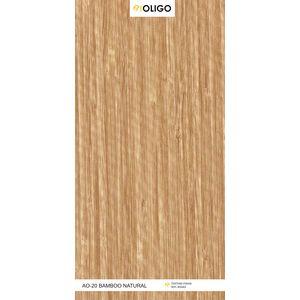 ALSTONE OLIGO WOOD POLYMER COMPOSITE BOARD (8 x 4 FEET) - BAMBOO NATURAL, both side, matt, 6 mm
