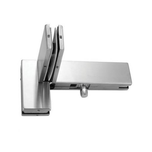 GODREJ GLASS HARDWARE - PATCH FITTINGS: L-ARM PATCH WITH PIVOT AND FIN LEFT