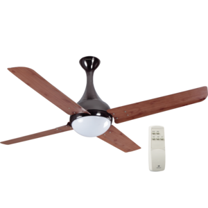 HAVELLS: PREMIUM UNDERLIGHT FANS DEW - 1320 MM SWEEP, red oak black nickel
