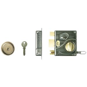 GODREJ ULTRA TRIBOLT - 1CK Antique Brass Inside Opening