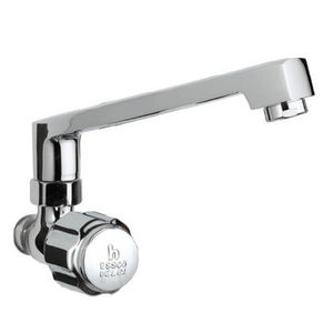 ESSCO DELUX FULL TURN - DLX-522 SINK COCK WITH SWINGING CASTED SPOUT WITH AERATOR