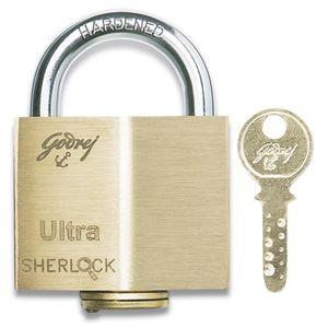 GODREJ ULTRA PADLOCKS: Sherlock - 3 Keys (Blister)